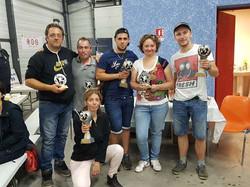 finalistes du concours de pétanque