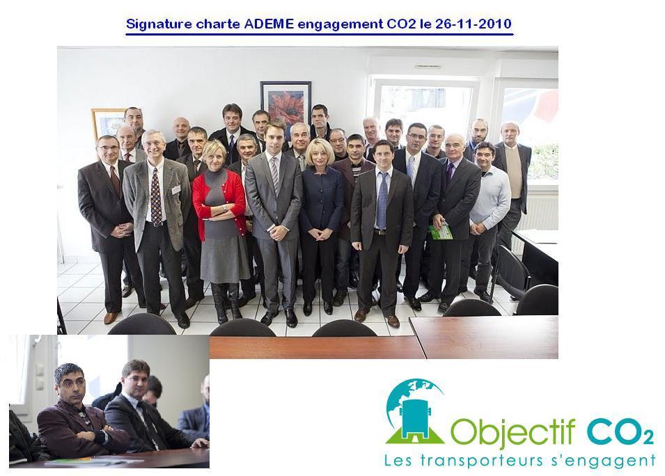 signature charte ADEME  le  06-11-10