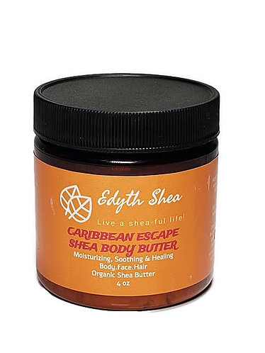 4oz Caribbean Escape Shea Body Butter