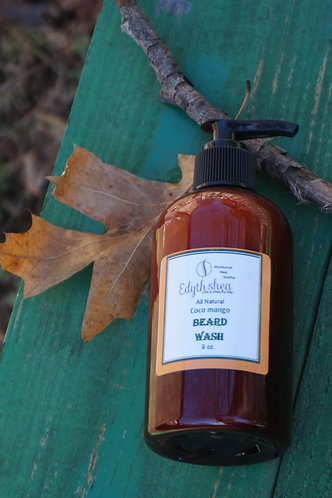 All Natural Beard Wash