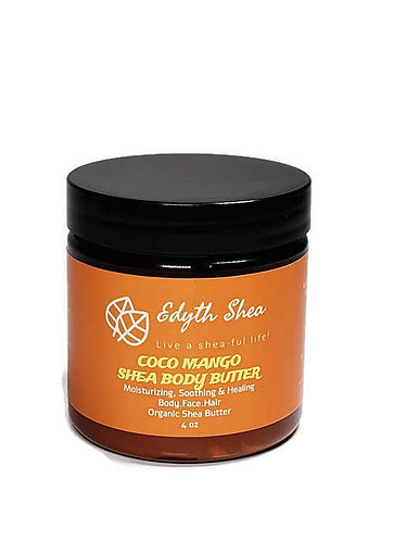 4oz Coco Mango Shea Body Butter
