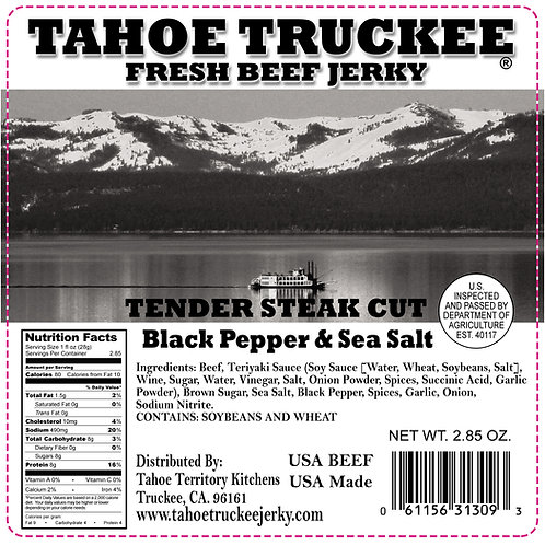 Black Pepper & Sea Salt