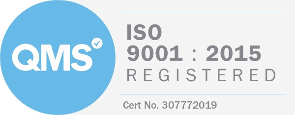 ISO 9001:2015 certification.