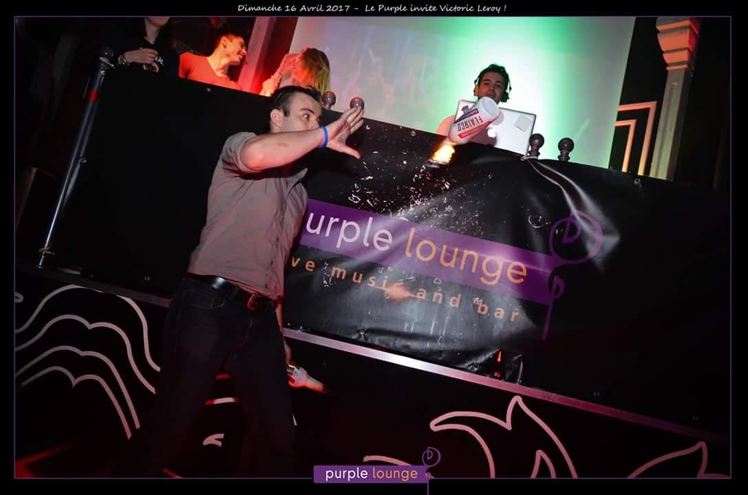 show au purple lounge de granville