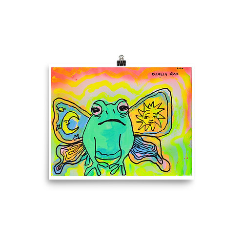 Butterfrog Poster