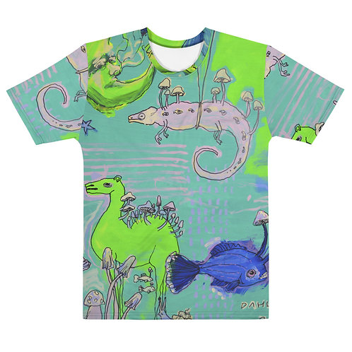 Camel, Chameleon and Moon T-shirt