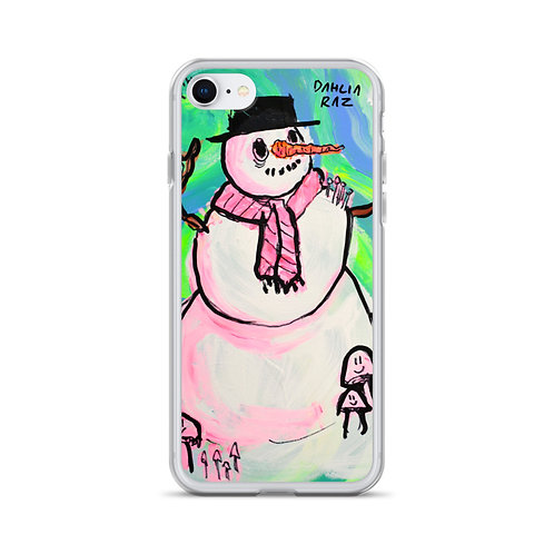 Snow Person iPhone Case