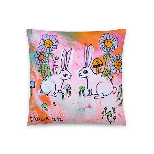 Rabbits Pillow