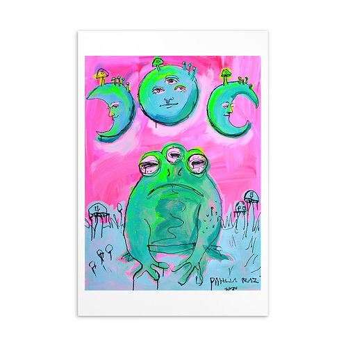 Frog and Moons