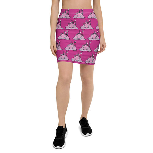 Blob Fish Pencil Skirt