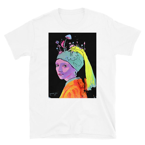 Girl with a Pearl Earring Short-Sleeve Unisex T-Shirt