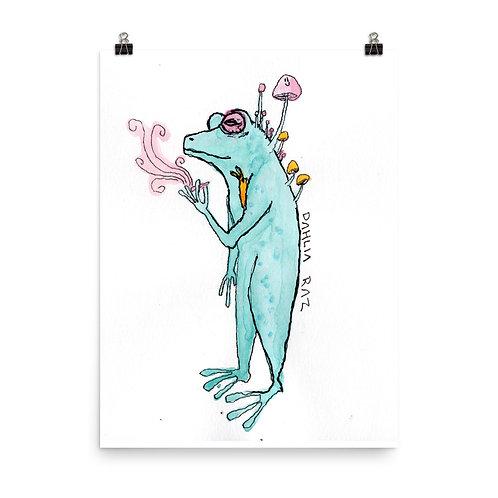 Smoking Frog and Slug