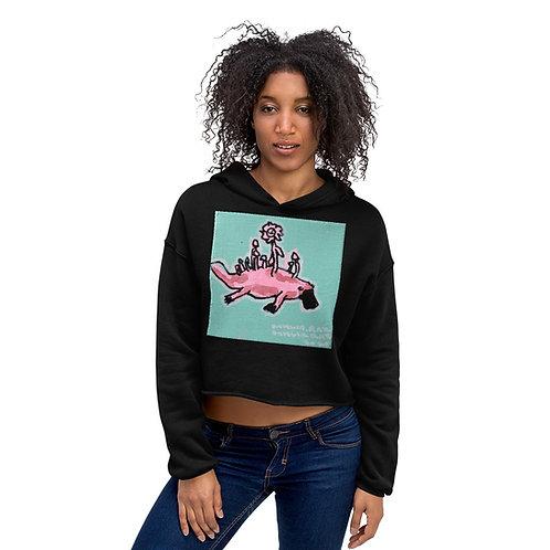 Platypus Crop Hoodie