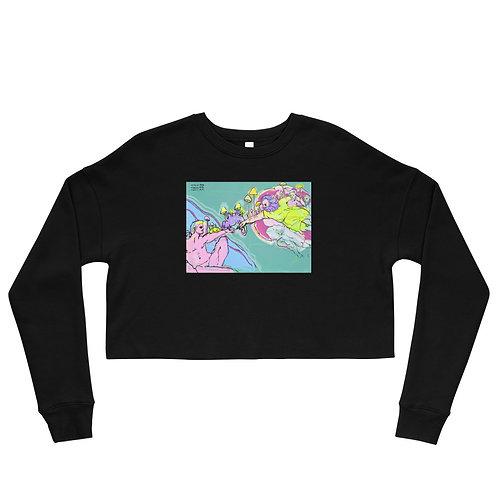 Creation of Adam Crop Sweatshirt