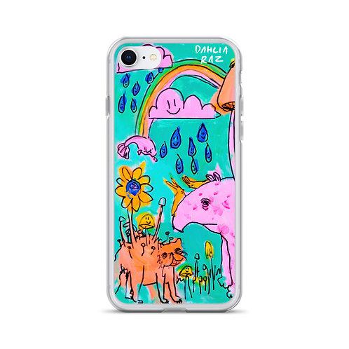 Cat and Tapir iPhone Case