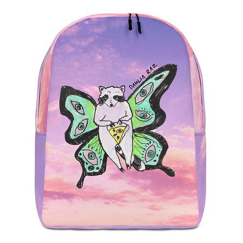 Butterfly Raccoon Backpack