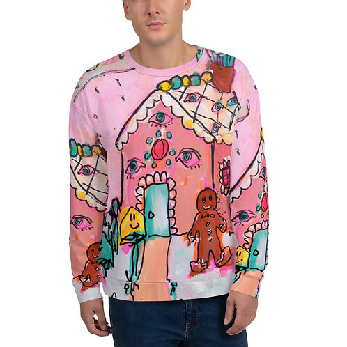 Gingerbread House Unisex Sweatshirt