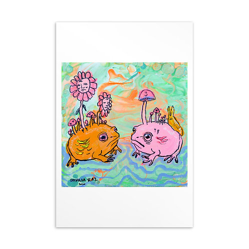 Frogs Mini Prints