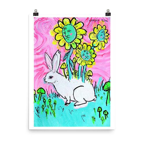 Rabbit and Flower Friends