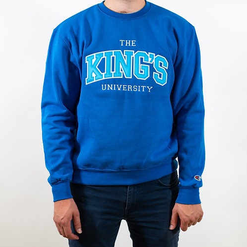 King's Champion Applique Crewneck