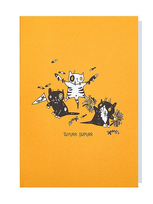 Supurr dupurr - Greeting card