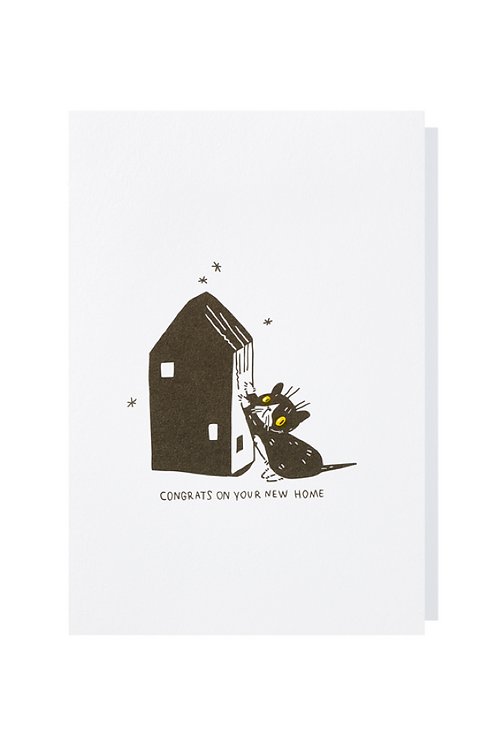 Congrats on your new home - Greeting card