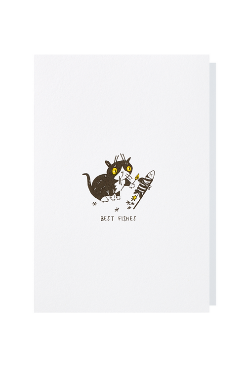Best fishes - Greeting card