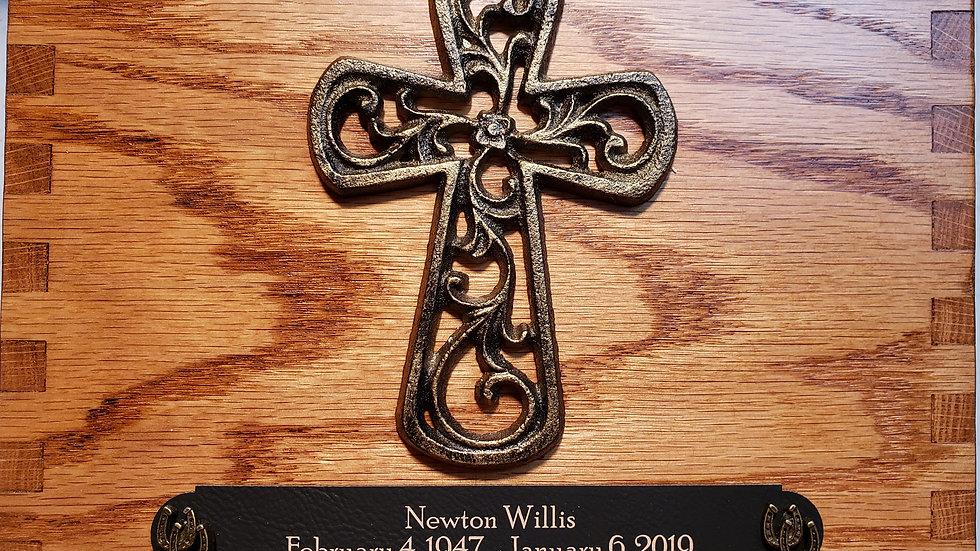 Oak | Filigree Cross | Antique Bronze