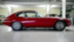 black-red-classic-car-in-a-garage-189454
