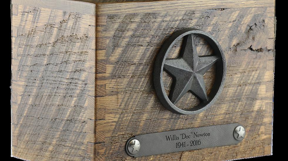 Reclaimed Barn Wood | Star | Antique Bronze