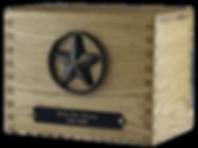 Oak crematon urn