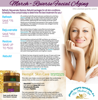 Refresh, Rejuvenate, Restore, Rebuild packages for all skin conditions.