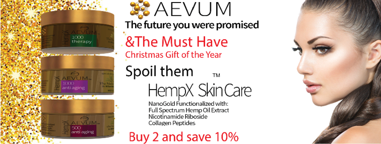 CBD Skin Care, Hemp, NanoGold Peptides all combine for the must have anti-aging cream of the year