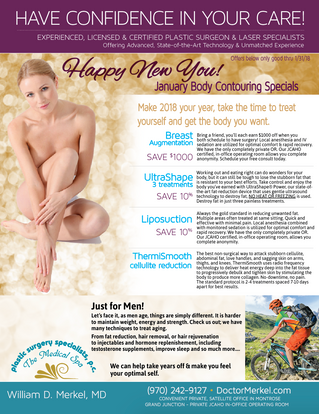 Happy New You - January Features