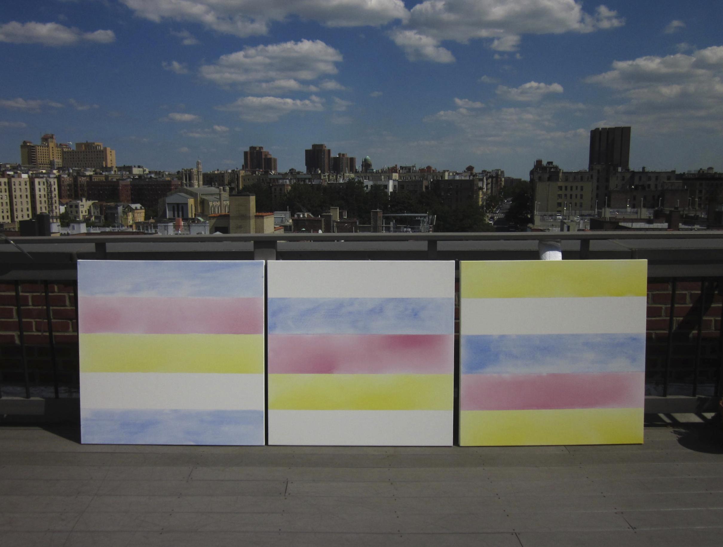 Days Under Heaven Triptych