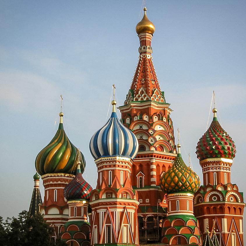 Fototur til Moskva SATT PÅ VENT pga COVID19