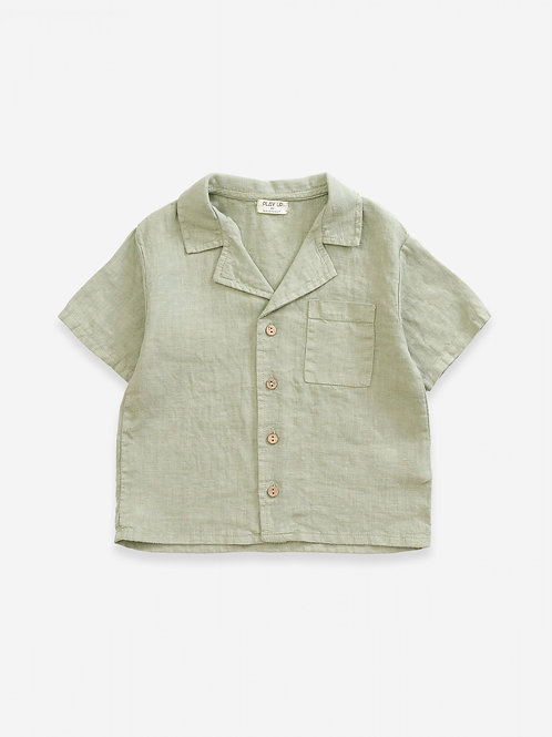 CAMISA DE LINO VERDE PLAY UP