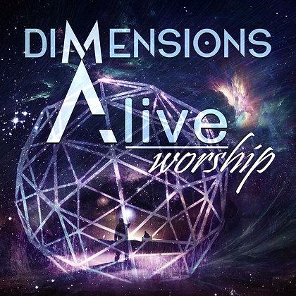 Dimensions Alive Worship Album - CD