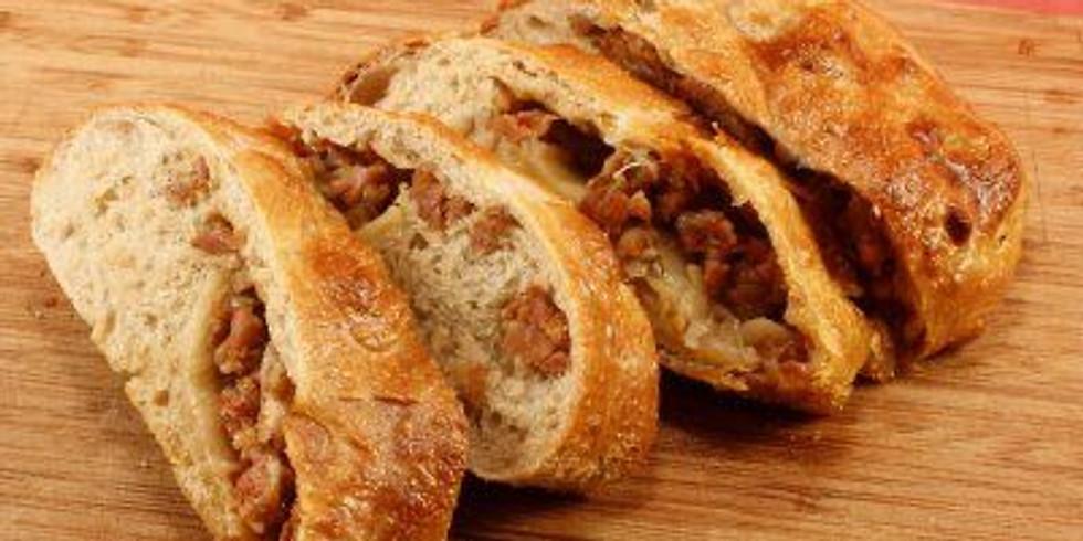 Italian Sausage Stuffed Bread