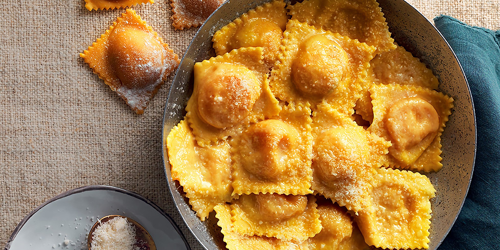 LIVE FROM ITALY - Homemade Pumpkin-stuffed Emilian Ravioli with Stefania Bertaccini
