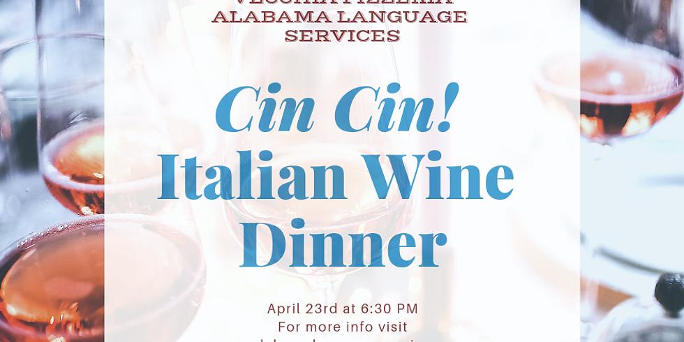 Cin Cin! Italian Wine Dinner