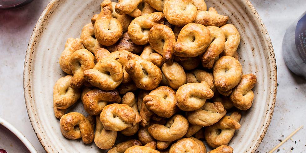Italian Savory Cookies (Taralli)