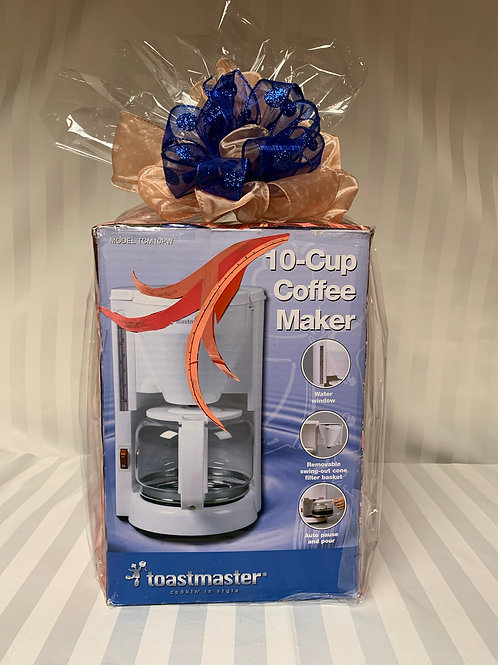 Coffee Maker and Mansour's Gift Card