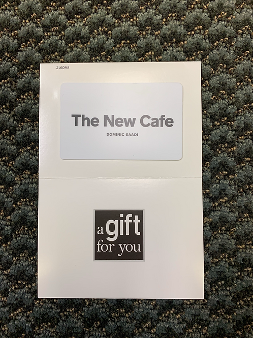$100 Gift Card to The New Cafe