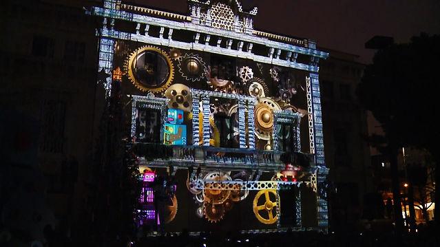 Acte d'encesa dels llums de Nadal 2018 de L'Hospitalet de Llobregat