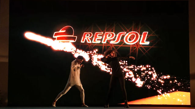 Repsol Mapping Dance