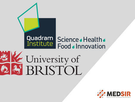 Joining forces with QUADRAM Institute Bioscience and University of Bristol for the project CALADRIO