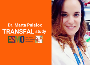 Dr. Marta Palafox presents results from the TRANSFAL sub-study at ESMO 2020