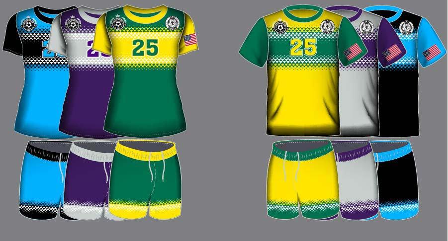 Dye Sublimation Soccer Uniform_SCR 1004_