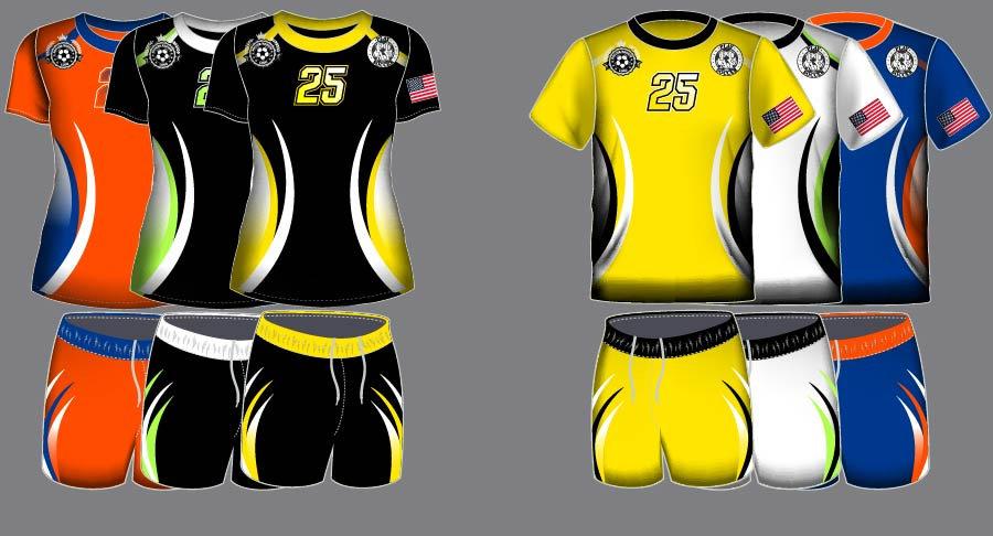 Dye Sublimation Soccer Uniform_SCR 1003_